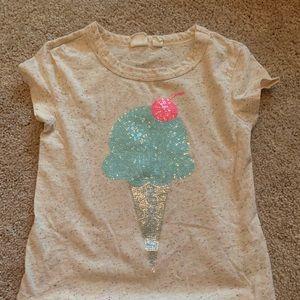 Gap sequence ice cream cone T-shirt